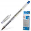 Ручка гелевая BEIFA , корпус прозрачный, металлический наконечник, толщина письма 0,5 мм, синяя
