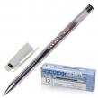 Ручка гелевая СОЮЗ Oskar, корпус прозрачный, узел 0,7 мм, линия письма 0,4 мм, черная (141940)