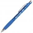 Ручка гелевая автоматическая с грипом BRAUBERG Jet Gel, печать, узел 0,6 мм, линия письма 0,4 мм, синяя (142690)