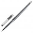 Ручка гелевая BRAUBERG DIAMOND, Черная, игольчатый узел 0,5 мм, линия письма 0,25 мм (143379)