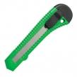 Нож канцелярский 18 мм STAFF, фиксатор, цвет корпуса ассорти, упаковка с европодвесом (230485)