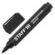 Маркер перманентный STAFF Basic, круглый наконечник, черный, 2,5 мм (150733)