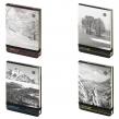 Блокнот МАЛЫЙ ФОРМАТ (90×130 мм) А6, 100 л., твердый картон, открытие вверх, BRUNO VISCONTI, Природа, 3-476/01 (111308)