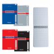 Блокнот BRAUBERG , А6, 108×145 мм, 48 л., гребень, обложка мелов. картон, клетка, контракт