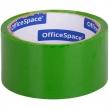 Клейкая лента упаковочная OfficeSpace, 48мм*40м, 45мкм, зеленый (212004)