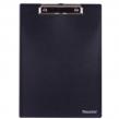 Доска-планшет BRAUBERG «Contract», плотная, с верхним зажимом, А4, пластик, черная