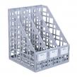 Лоток вертикальный СТАММ, пластиковый, сборный на 3 отд., серый (ЛТ80)