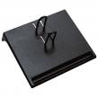 Подставка для календаря малая СТАММ, 175×205×37 мм, черная