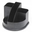 Органайзер СТАММ АВАНГАРД, пластиковый,черный (217853)