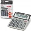 Калькулятор STAFF настольный STF-5810, 10 разрядов, двойное питание, 134×107 мм