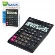 Калькулятор настольный CASIO GR-12-W (209×155 мм), 12 разрядов, двойное питание, черный, европодвес (250380)