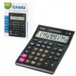 Калькулятор настольный CASIO GR-16-W (209×155 мм), 16 разрядов, двойное питание, черный, европодвес (250382)