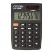 Калькулятор карманный CITIZEN SLD-100NR (90×60 мм), 8 разрядов, двойное питание (250086)