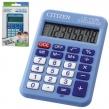 Калькулятор CITIZEN карманный LC-110NBLCFS, 8 разрядов, двойное питание, 87×58 мм, синий