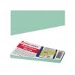 Разделители листов, трапеция 230×120×60 мм, картонные, Комплект 100 шт., зеленые, BRAUBERG (225970)