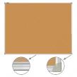 Доска пробковая BRAUBERG для объявлений, 60×90 см, улучшенная алюминиевая рамка