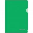Папка-уголок Berlingo А4 180мкм, прозрачная зеленая (131463)