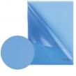 Папка-уголок жесткая BRAUBERG, синяя, 0,15 мм (221642)
