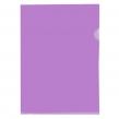 Папка-уголок OfficeSpace, А4, 150мкм, прозрачная фиолетовая (254240)