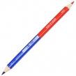 Карандаш двухцветный утолщённый KOH-I-NOOR, 1 шт., красно-синий, грифель 3,8 мм, картонная упаковка (180874)
