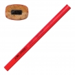 Карандаш столярный KOH-I-NOOR, 1 шт., НВ, грифель 5×2 мм, корпус красный (181004)
