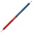 Карандаш двухцветный красно-синий, BRAUBERG, заточенный, грифель 2,9 мм (181253)