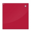 Доска стеклянная магнитно-маркерная 60×80 см, красная, OFFICE, «2×3»