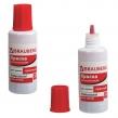 Краска штемпельная BRAUBERG PROFESSIONAL, clear stamp, красная, 30 мл, на водной основе (227984)