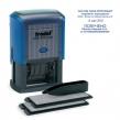 Датер самонаборный, 6 строк+дата, оттиск 60×40 мм, синий, TRODAT 4727, кассы в комплекте (235551)