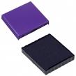 Подушка сменная квадратная, (40×40 мм), ДЛЯ TRODAT 4940, 4924, 4724, 4740, фиолетовая (235571)