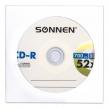 Диск CD-R SONNEN, 700 Mb, 52x, бумажный конверт,1 шт. (512573)