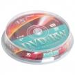 Диски DVD + RW VS 4,7 Gb 4x, комплект 10 шт., Cake Box, VSDVDPRWCB1001 (511543)