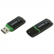 Флеш-диск 16 GB, SMARTBUY Paean, USB 2.0, черный, SB16GBPN-K (512769)