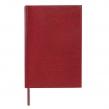 Ежедневник недатированный А5, (138×213 мм) BRAUBERG Profile, балакрон, 136 л., красный (123427)