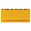 Планинг настольный недатированный (305×140 мм) BRAUBERG Select, балакрон, желтый (111696)