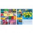 Календарь на гребне с ригелем на 2019 г., HATBER, 6 л., «Разноцветный мир» (129481)