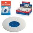 Резинка стирательная ERICH KRAUSE «Smart Oval», овальная, 57×34×13 мм, белая, пластик. держатель (222301)