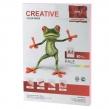 Бумага CREATIVE color, А4, 80 г/м2, 100 л., пастель розовая