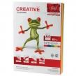 Бумага CREATIVE color, А4, 80 г/м2, 100 л., цветная интенсив