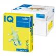 Бумага IQ  color, А4, 80 г/м2, 500 л., неон желтая