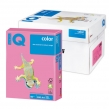 Бумага IQ  color, А4, 80 г/м2, 500 л., неон розовая