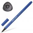 Ручка капиллярная (линер) BRAUBERG Aero, синяя, трехгранная, металлический наконечник, линия письма 0,4 мм (142253)