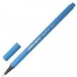 Ручка капиллярная (линер) BRAUBERG Aero, голубая, трехгранная, металлический наконечник, линия письма 0,4 мм (142259)