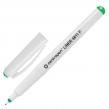 Ручка капиллярная CENTROPEN, Зеленая, трехгранная, корпус белый, линия письма 0,3 мм (142301)