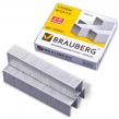 Скобы для степлера BRAUBERG , №23/17, 1000 штук, до 120 л