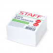 Блок для записей STAFF непроклеенный, куб, 9×9х5 см, белый