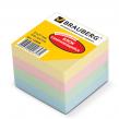 Блок самоклеящ. BRAUBERG 51*51 мм 400л., 4 цвета (122858)