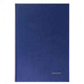 Книга учета 144 л., линия, твердая, бумвинил, блок офсет, А4 (200×290 мм), BRAUBERG (130227)