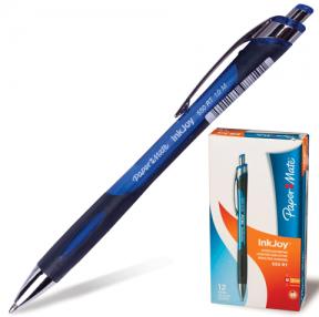 Ручка шариковая PAPER MATE автоматическая «InkJoy 550 RT», корпус черно-синий, толщина письма 1 мм, синяя