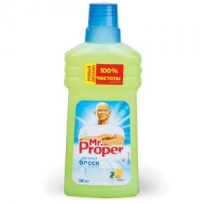 Средство для мытья пола MR. PROPER, 500 мл, Лимон